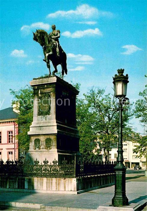 AK / Ansichtskarte Luxembourg Luxemburg Monument equestre de Guillaume 2  Kat. Luxembourg