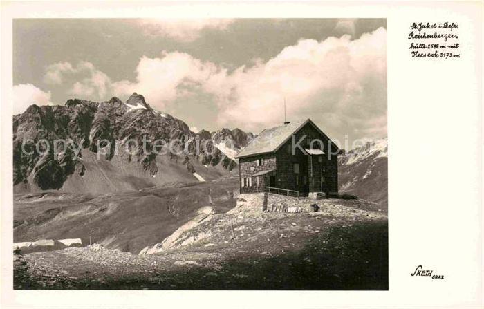 AK / Ansichtskarte Obersee GL Reichenberger Huette Kat. Kloental