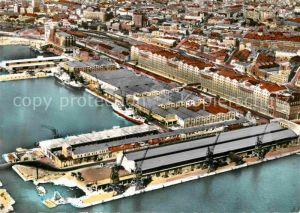 AK / Ansichtskarte Marseille Fliegeraufnahme Bassin de la Joliette Kat. Marseille