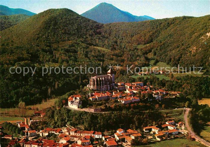 AK / Ansichtskarte Saint Bertrand de Comminges Fliegeraufnahme Ville gallo romaine Kat. Saint Bertrand de Comminges
