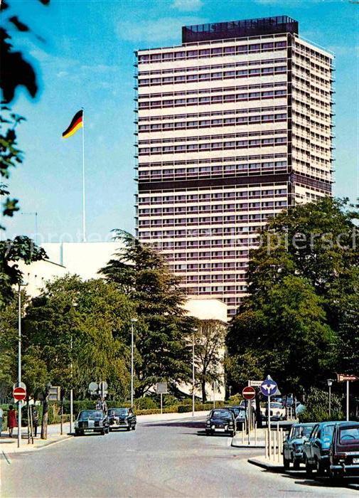 AK / Ansichtskarte Bonn Rhein Buerohochhaus des Bundestages Kat. Bonn