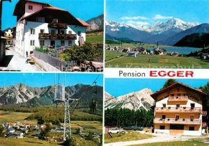AK / Ansichtskarte St Valentin Haide Vinschgau Pension Egger Kat. San Valentino alla Muta Vinschgau