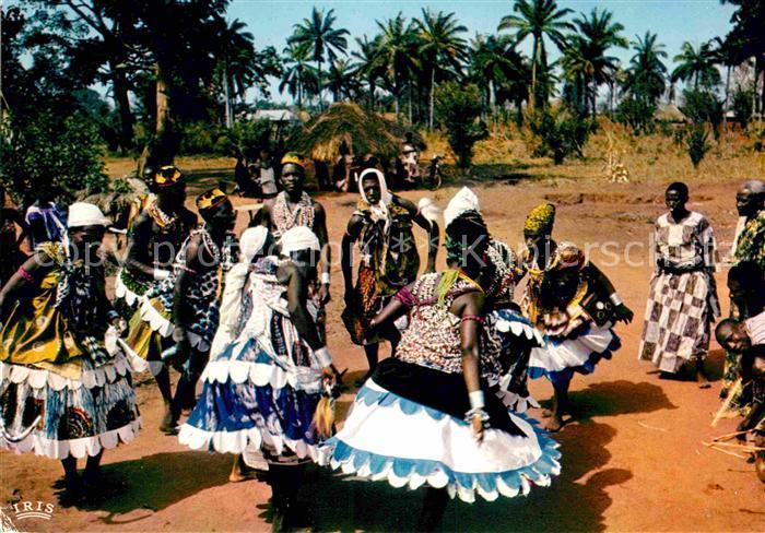 AK / Ansichtskarte Abomey Danses Kat. Dahomey