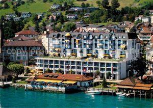 AK / Ansichtskarte Gersau Vierwaldstaettersee Hotel Mueller Kat. Gersau