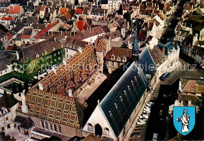 AK / Ansichtskarte Beaune d Allier Hotel Dieu Vue aerienne Kat. Beaune d Allier