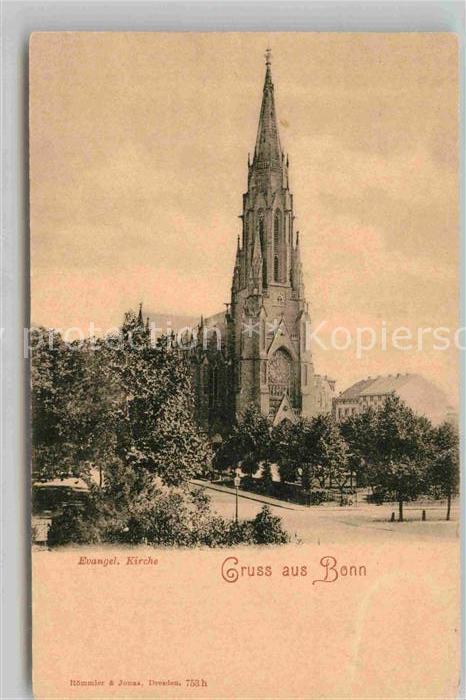 AK / Ansichtskarte Bonn Rhein Evangelische Kirche Kat. Bonn