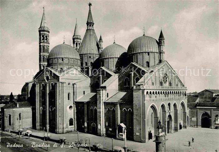 AK / Ansichtskarte Padova Basilica di Sant Antonio Kat. Padova