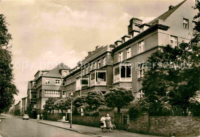 AK / Ansichtskarte Halle Saale St. Barbara Krankenhaus Kat. Halle