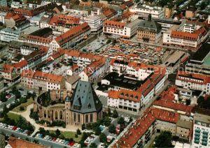 AK / Ansichtskarte Hanau Main Fliegeraufnahme Kat. Hanau