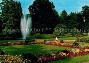 AK / Ansichtskarte Hanau Main Partie im Schlossgarten Kat. Hanau