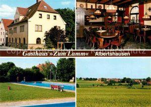 AK / Ansichtskarte Reichenberg Unterfranken Gasthaus zum Lamm Kat. Reichenberg