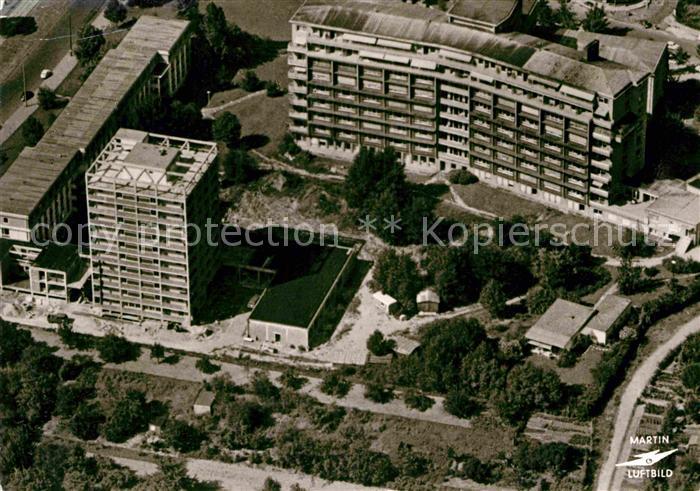 AK / Ansichtskarte Frankfurt Main Fliegeraufnahme Sankt Marien Krankenhaus Kat. Frankfurt am Main
