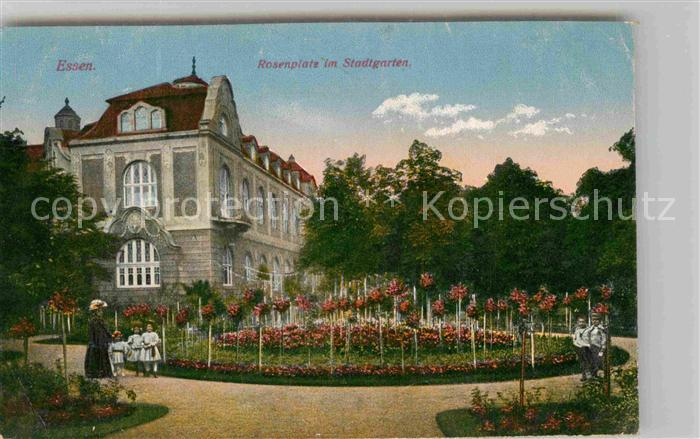 AK / Ansichtskarte Essen Ruhr Rosenplatz Stadtgarten  Kat. Essen