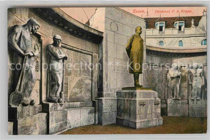 AK / Ansichtskarte Essen Ruhr Denkmal Krupp Kat. Essen