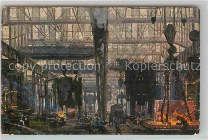 AK / Ansichtskarte Essen Ruhr Gussstahlfabrik Presssbau Kat. Essen