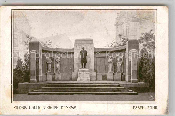 AK / Ansichtskarte Essen Ruhr Friedrich Alfred Krupp Denkmal Kat. Essen
