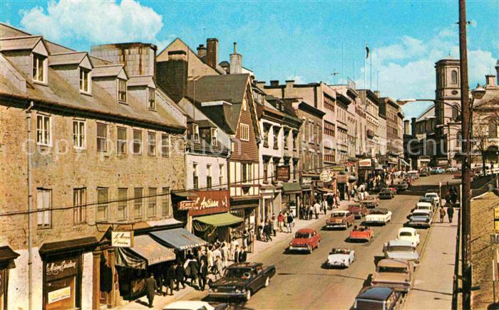 AK / Ansichtskarte Quebec Rue de la Fabrique Kat. Quebec