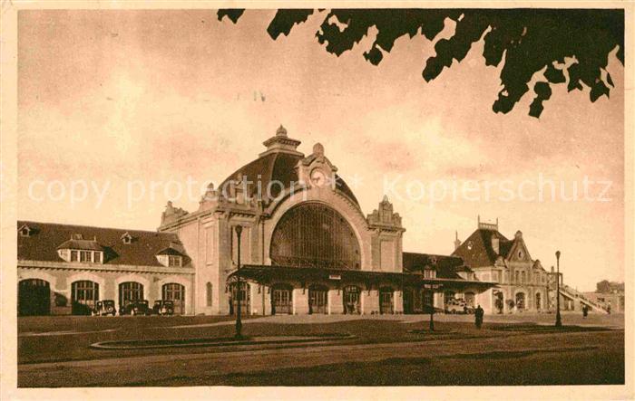 AK / Ansichtskarte Saint Brieuc Cotes d Armor La Gare Kat. Saint Brieuc