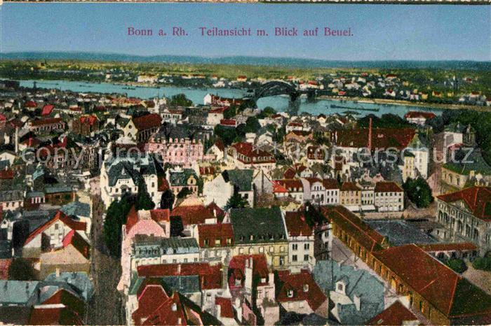 AK / Ansichtskarte Bonn Rhein Panorama mit Beuel Kat. Bonn