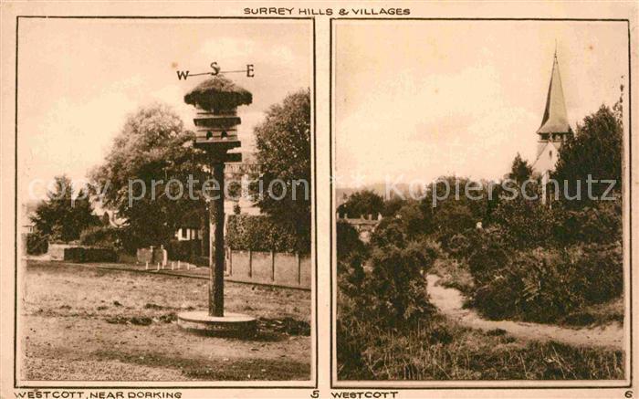 AK / Ansichtskarte Westcott Surrey Hills and Villages Kat. Mole Valley