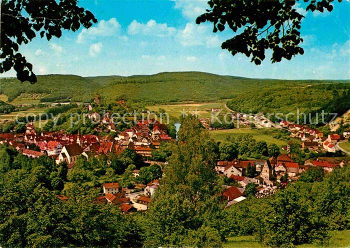 AK / Ansichtskarte Pappenheim Mittelfranken Blick vom Weinberg Kat. Pappenheim