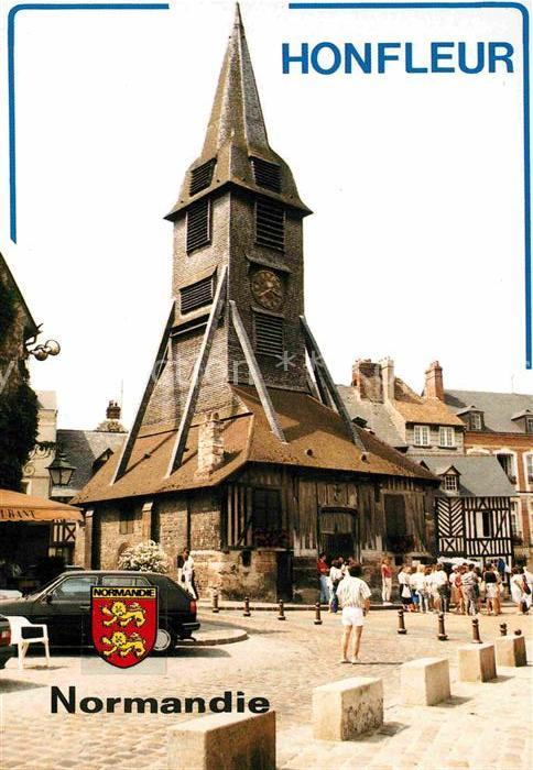 AK / Ansichtskarte Honfleur Le clocher Sainte Catherine Kat. Honfleur