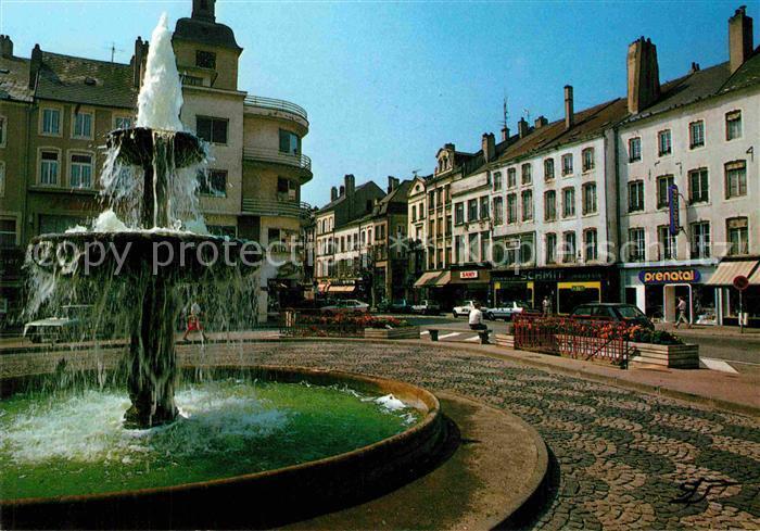 AK / Ansichtskarte Thionville Jet d eau Place du Marche Kat. Thionville