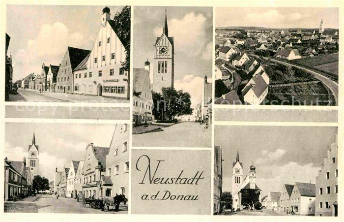 AK / Ansichtskarte Neustadt Donau Ortsansichten Kirche  Kat. Neustadt a.d.Donau