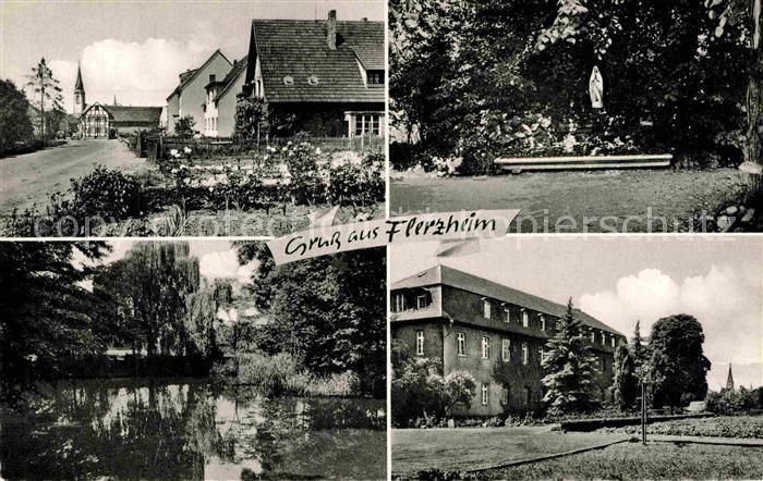 AK / Ansichtskarte Flerzheim Rheinbach Ortsansichten Kat. Rheinbach
