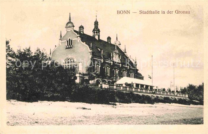 AK / Ansichtskarte Bonn Rhein Stadthalle Gronau Kat. Bonn