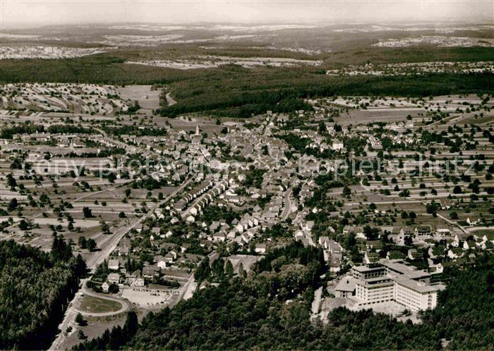 AK / Ansichtskarte Langensteinbach Karlsbad Luftaufnahme Kat. Karlsbad
