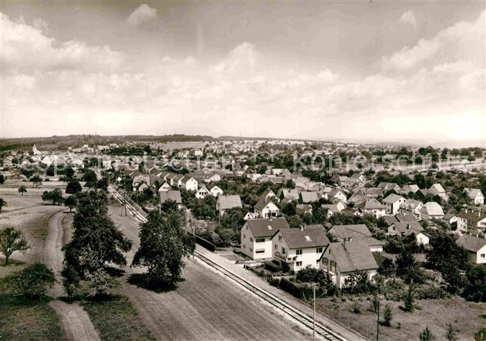 AK / Ansichtskarte Langensteinbach Karlsbad Panorama Kat. Karlsbad