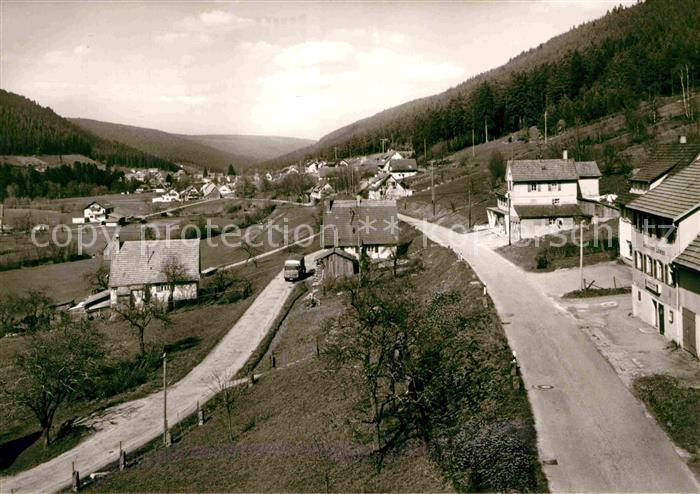 AK / Ansichtskarte Enzkloesterle Panorama Kat. Enzkloesterle