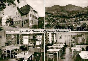 AK / Ansichtskarte Loffenau Rastatt Gasthof Pension Krone Kat. Loffenau