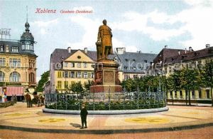 AK / Ansichtskarte Koblenz Rhein Goeben Denkmal Kat. Koblenz
