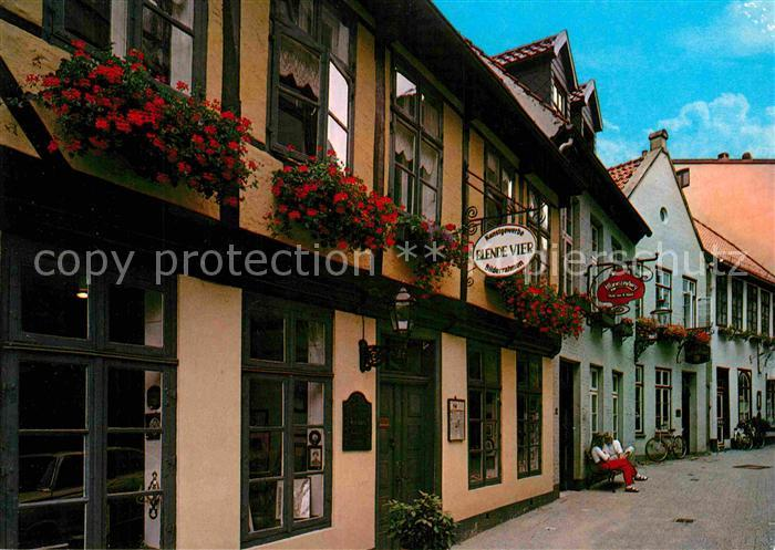 ak ansichtskarte oldenburg niedersachsen bergstrasse altstadt gaststaette restaurant kat. Black Bedroom Furniture Sets. Home Design Ideas