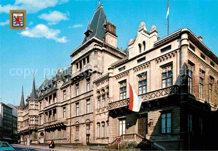 AK / Ansichtskarte Luxembourg Luxemburg Palais Grand Ducal Kat. Luxembourg