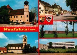 AK / Ansichtskarte Neufahrn Ortsansichten Strassenpartie Kat. Neufahrn b.Freising