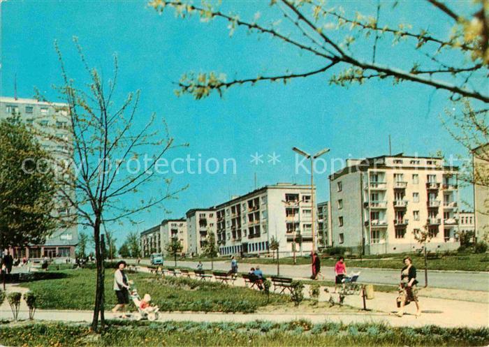 AK / Ansichtskarte Lodz Osiedle mieszkaniowe im. Wlady Bytomskiej Wohnsiedlung Kat. Lodz
