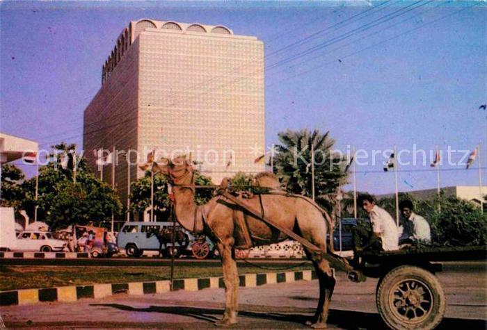 AK / Ansichtskarte Karachi Camel Cart  Kat. Karachi