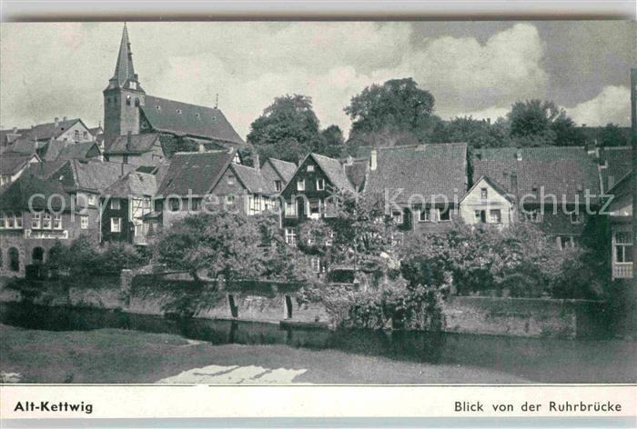 AK / Ansichtskarte Kettwig Alt Kettwig Gartenstadt Kat. Essen