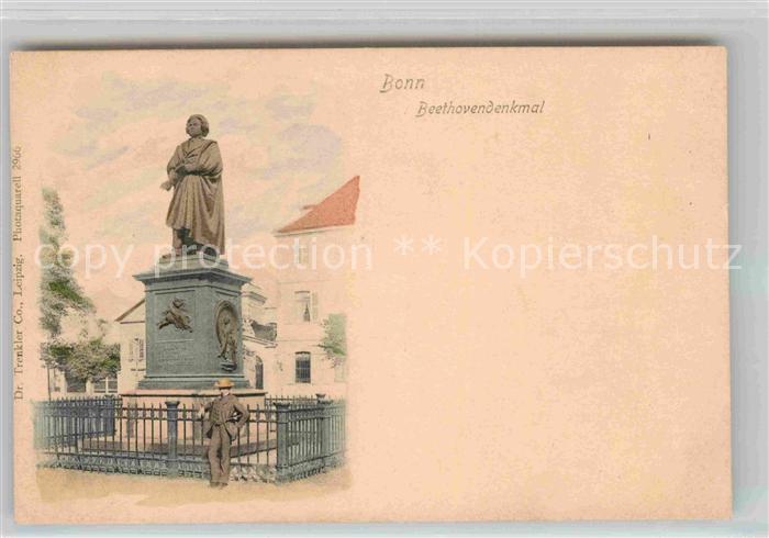 AK / Ansichtskarte Bonn Rhein Beethovendenkmal Kat. Bonn