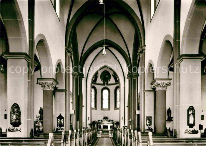 AK / Ansichtskarte Bassenheim Katholische Pfarrkirche  Kat. Bassenheim