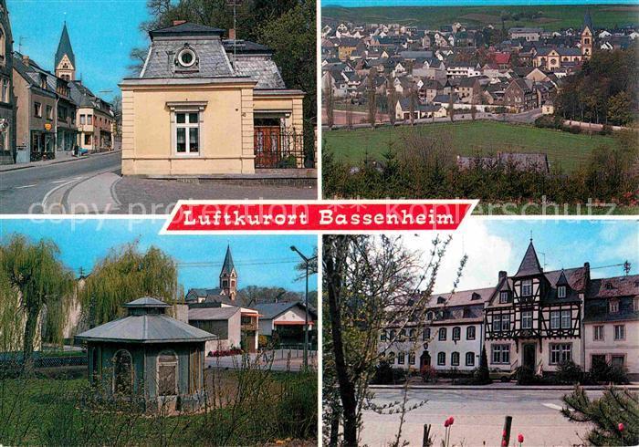 AK / Ansichtskarte Bassenheim Teilansicht Pavillon Fachwerkhaus Kat. Bassenheim