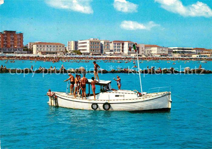 AK / Ansichtskarte Cesenatico Villa Marina Gita in Barca Kat. Italien