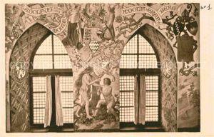 AK / Ansichtskarte Burg Wupper Stammbaum Ahnensaal  Kat. Solingen