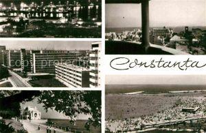 AK / Ansichtskarte Constanta Teilansichten Hochhaeuser Strand Casino Uferpromenade Kat. Constanta