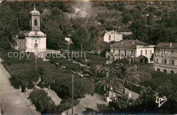 AK / Ansichtskarte Dellys Place de l Eglise et la Poste Kat. Algerien