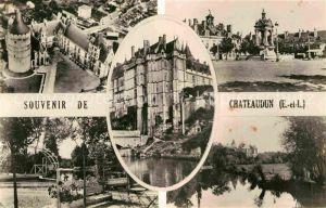 AK / Ansichtskarte Chateaudun Schlosspartien Kat. Chateaudun