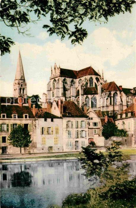 AK / Ansichtskarte Auxerre Abbaye Kat. Auxerre